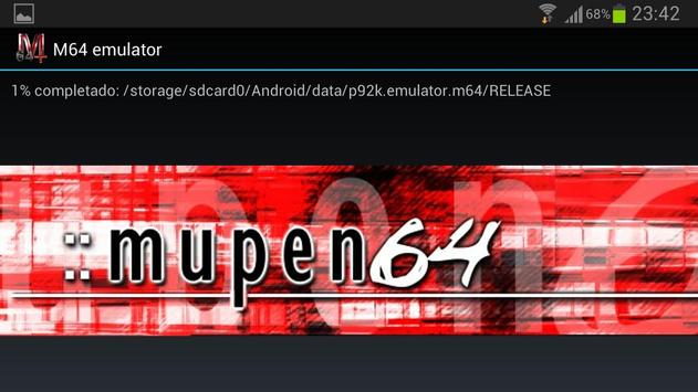 M64 emulator poster