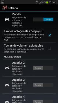 M64 emulator screenshot 2