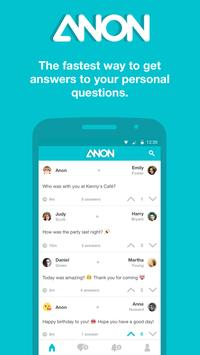 Anon - Ask Friends poster