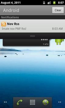 IMI RSS Reader apk screenshot