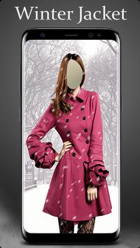 Winter Jacket Photo Suit Editor screenshot 3