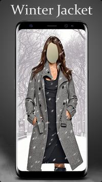 Winter Jacket Photo Suit Editor screenshot 2