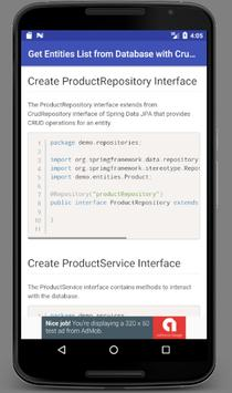 Learn Spring Data JPA with Real Apps screenshot 5