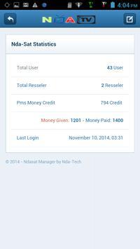 Ndasat Manager screenshot 2