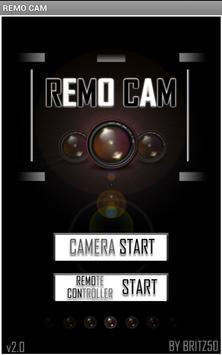 REMO CAM poster
