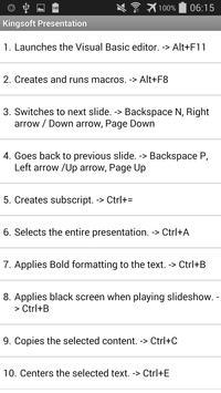 Top King Soft Office Shortcuts apk screenshot