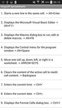 Top King Soft Office Shortcuts screenshot 7