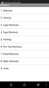 Top PS CS6 Shortcuts screenshot 3