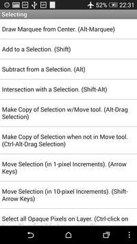 Top PS CS6 Shortcuts screenshot 4