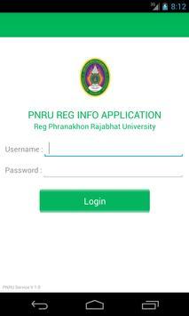 PNRU REG INFO poster
