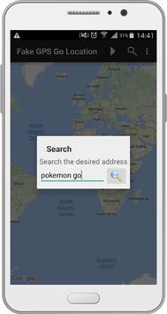 Fake GPS Go Location apk screenshot