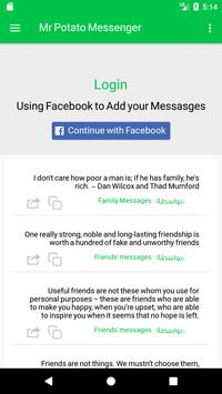Mr Potato Messenger apk screenshot