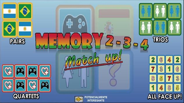 Trainer memory game poster