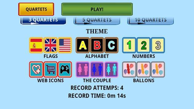 Trainer memory game apk screenshot