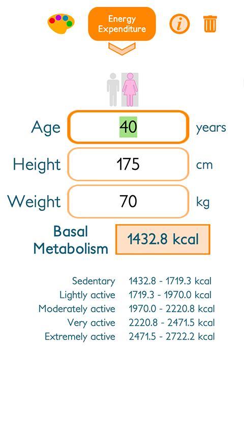 理想 の 体重 計算