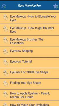 Eyes Make Up Pro apk screenshot