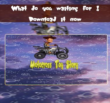Motocross Toy Story poster