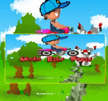Moto Bike Pepie poster