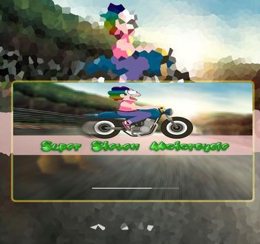 Super Steven Motorcycle poster
