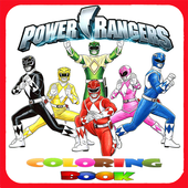 Power Rangers Coloring Book icon