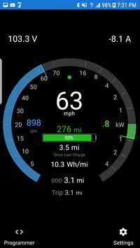 EV Dashboard and Programmer screenshot 2