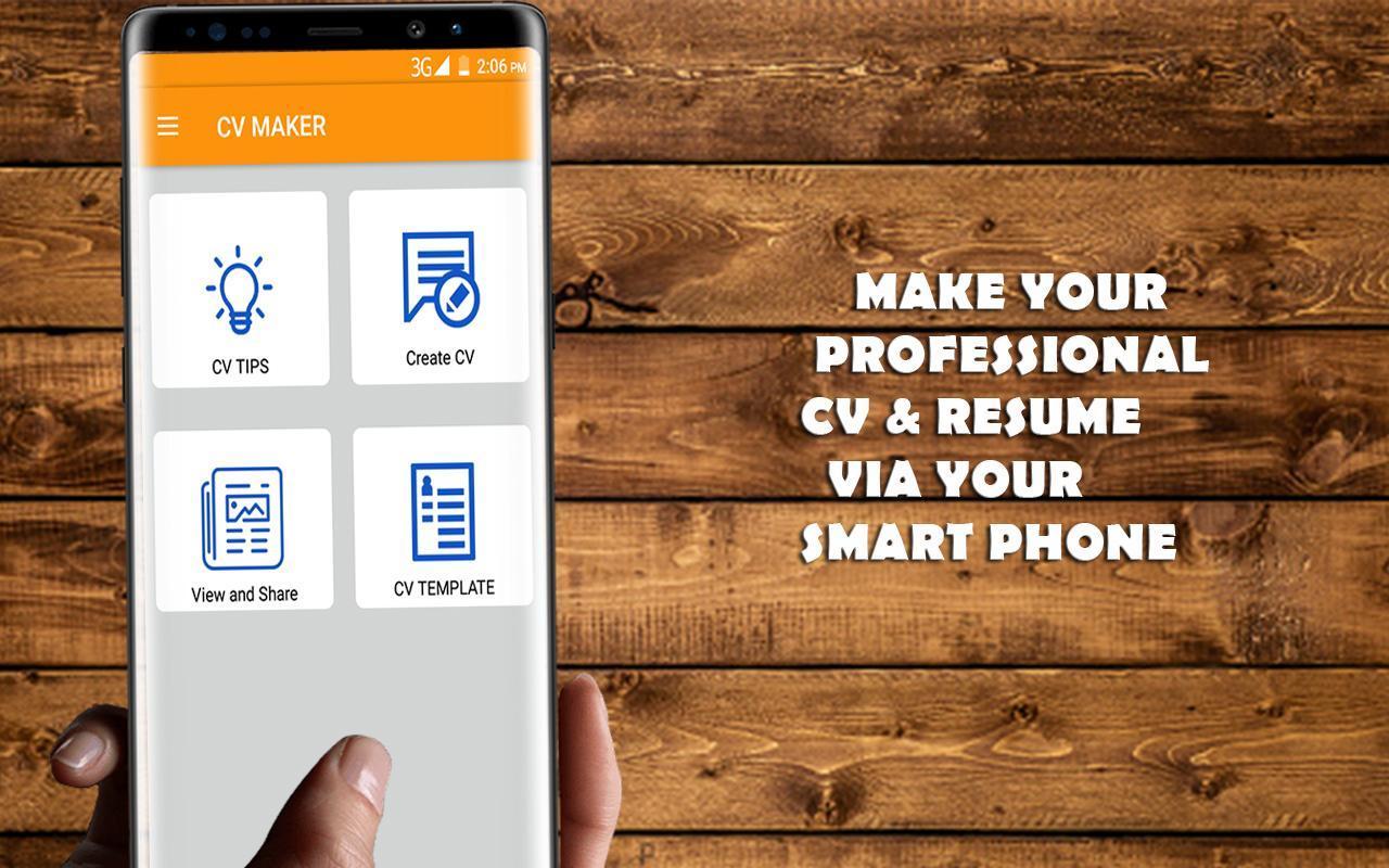 Job CV Maker / Reanudar for Android - APK Download