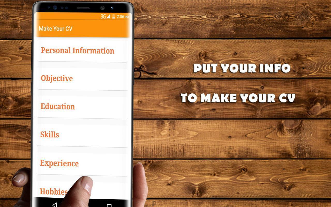 Job CV Maker / Reanudar for Android - APK Download