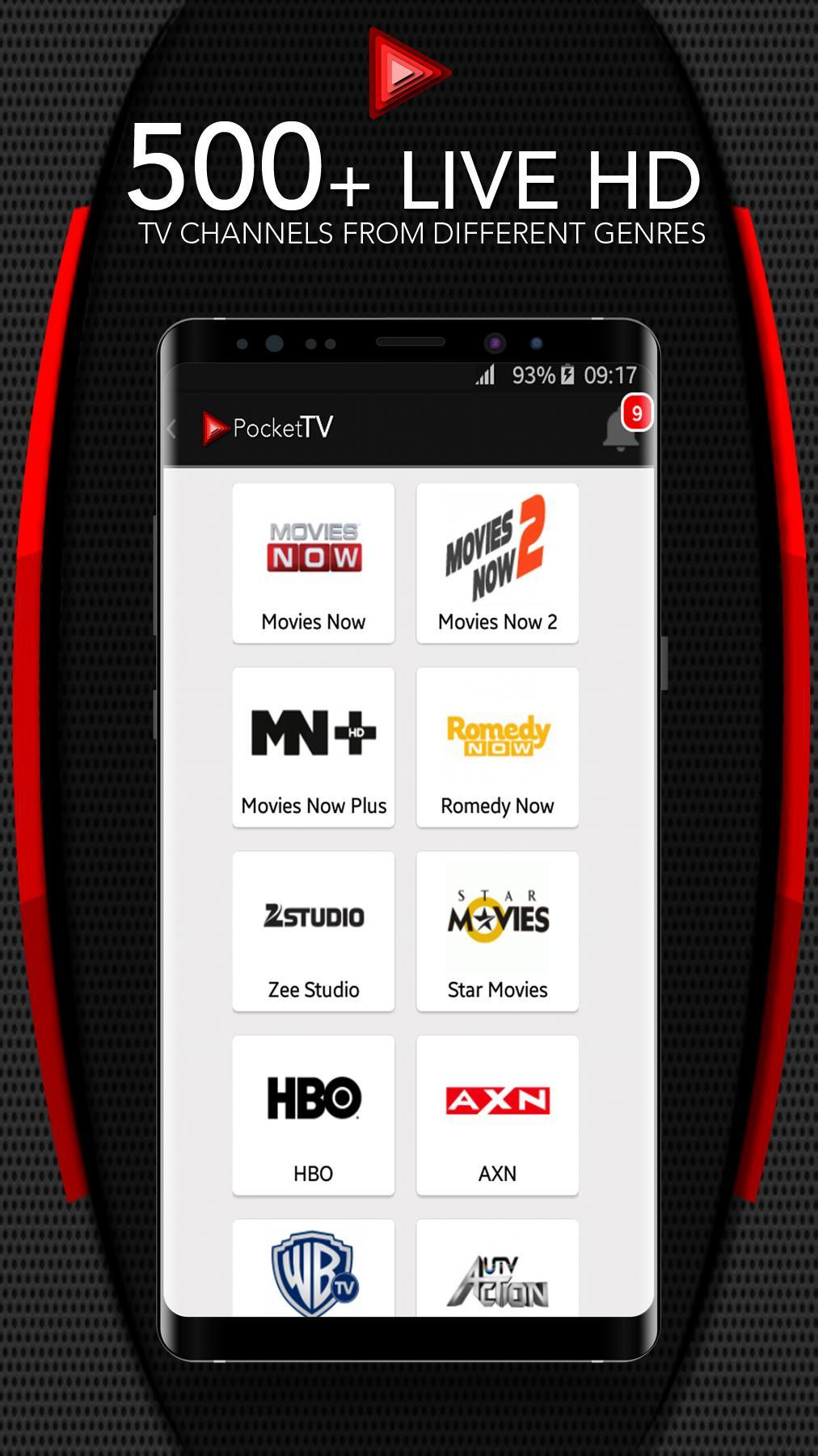 Pocket TV for Android - APK Download