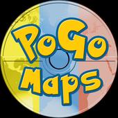 PoGoMaps: A Map for Pokémon GO icon