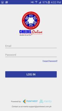 CHEERS Online poster