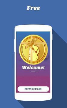 Free Pokecoins : Rewards poster