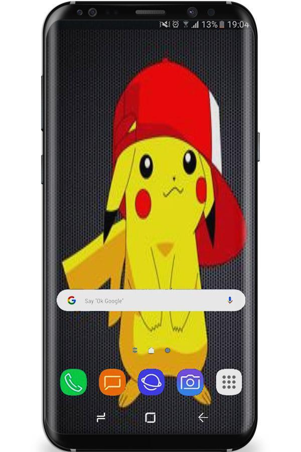 Pokemone wallpaper pikatshu HD+ poster