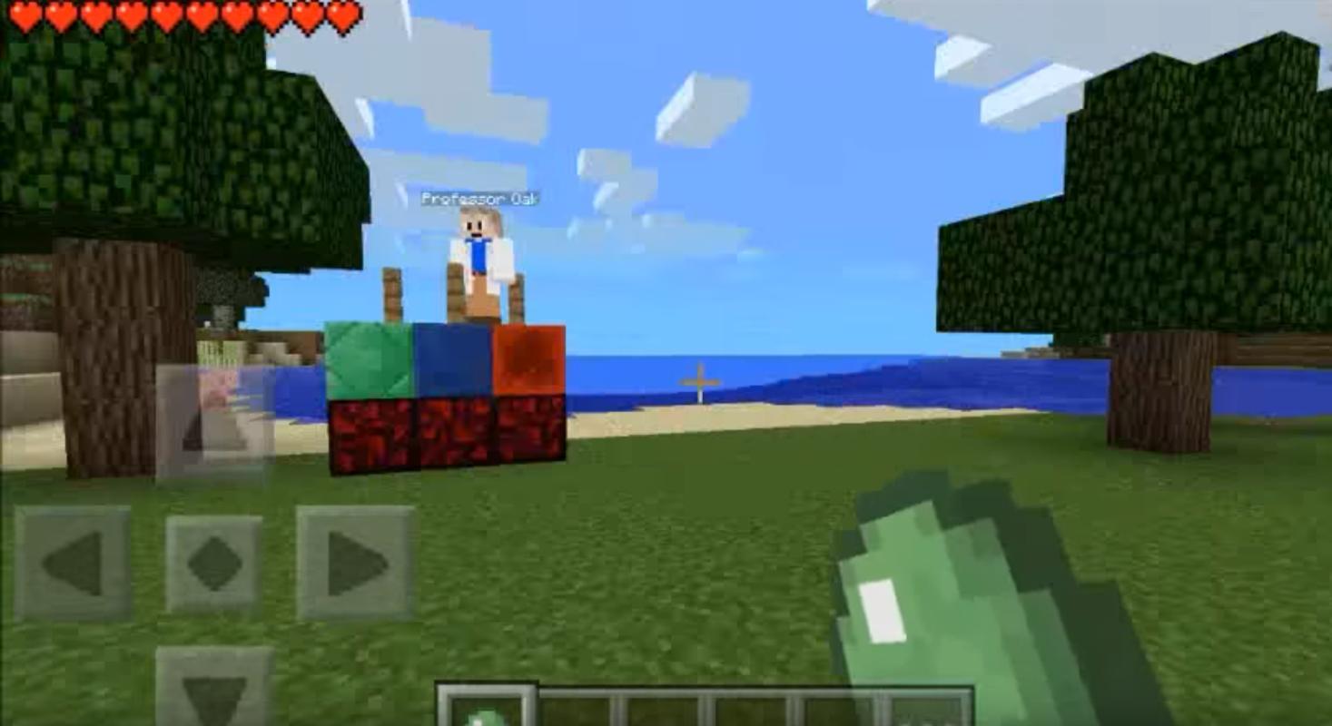 pokecube minecraft pe mod download