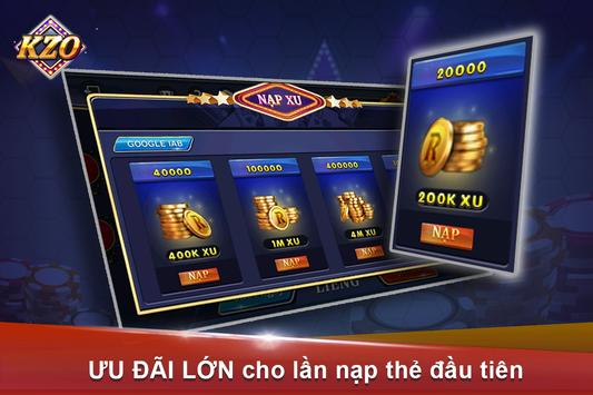 Game vui-choi bai doi thuongKZ screenshot 2