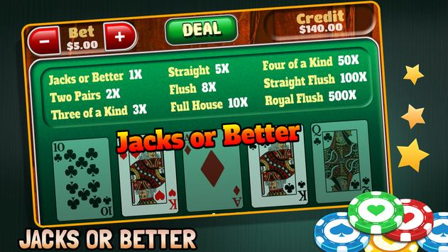 Video Poker screenshot 2