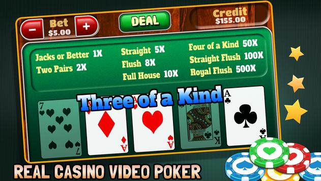 Video Poker screenshot 3