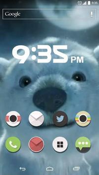 Polar bear adventure Live apk screenshot