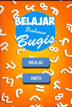 Belajar Bahasa Bugis poster