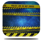 Police Lines Caution HD LiveWP icon