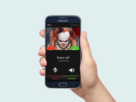 Video Call From Scary Clown Prank poster