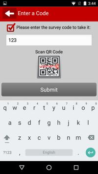 PU Mobile Survey apk screenshot