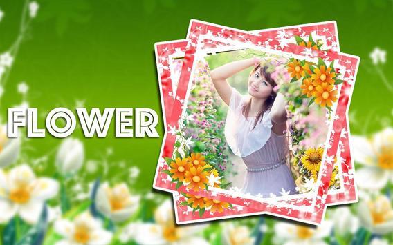 Flower Photo Frame Collage apk screenshot