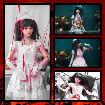Halloween Grid Photo Collage poster