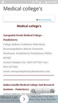 Pondicherry Hospitals Lists screenshot 6