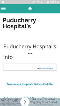 Pondicherry Hospitals Lists screenshot 15