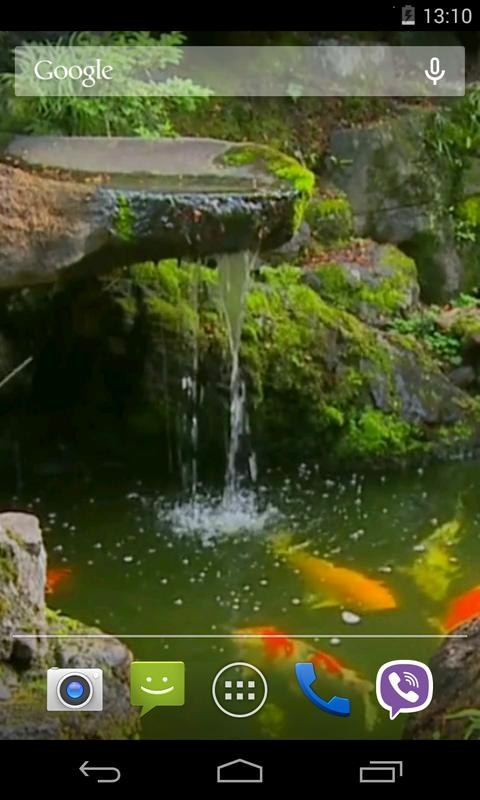 Pond With Koi Live Wallpaper Apk Download Free Personalization App For Android