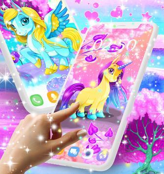Unicorn Live Wallpaper Poster