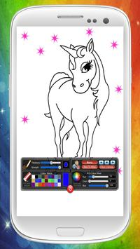 Ponys And Unicorns To Coloring apk screenshot