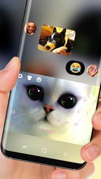 Poor eyes cat Keyboard apk screenshot