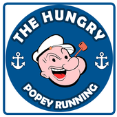 The hungry popey runner icon